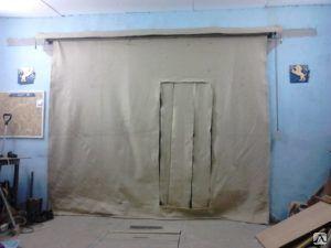 Шторы брезентовые с дверью, цена в Челябинске от компании ЧЕЛЯБТЕНТСЕРВИС